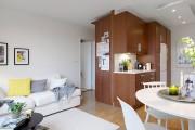 Фото 19 Дизайн малогабаритных квартир (47 фото): увеличиваем жилое пространство