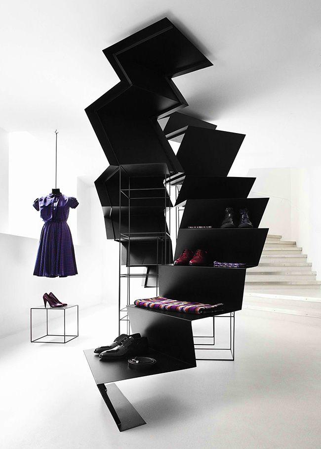 Дизайн магазина женской одежды в стиле модерн