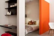 Фото 5 Дизайн однокомнатной квартиры с нишей (54 фото): соединяем стиль и практичность