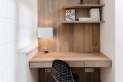 Фото 7 Дизайн однокомнатной квартиры с нишей (54 фото): соединяем стиль и практичность