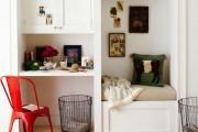 Фото 4 Дизайн однокомнатной квартиры с нишей (54 фото): соединяем стиль и практичность