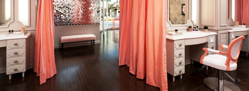 Дизайн салонов красоты (44 фото): особый стиль, работающий на имидж салона
