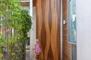 Фото 17 Деревянные входные входные: ТОП-10 надежных и стильных моделей для дома 2019 года