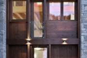 Фото 22 Деревянные входные входные: ТОП-10 надежных и стильных моделей для дома 2019 года