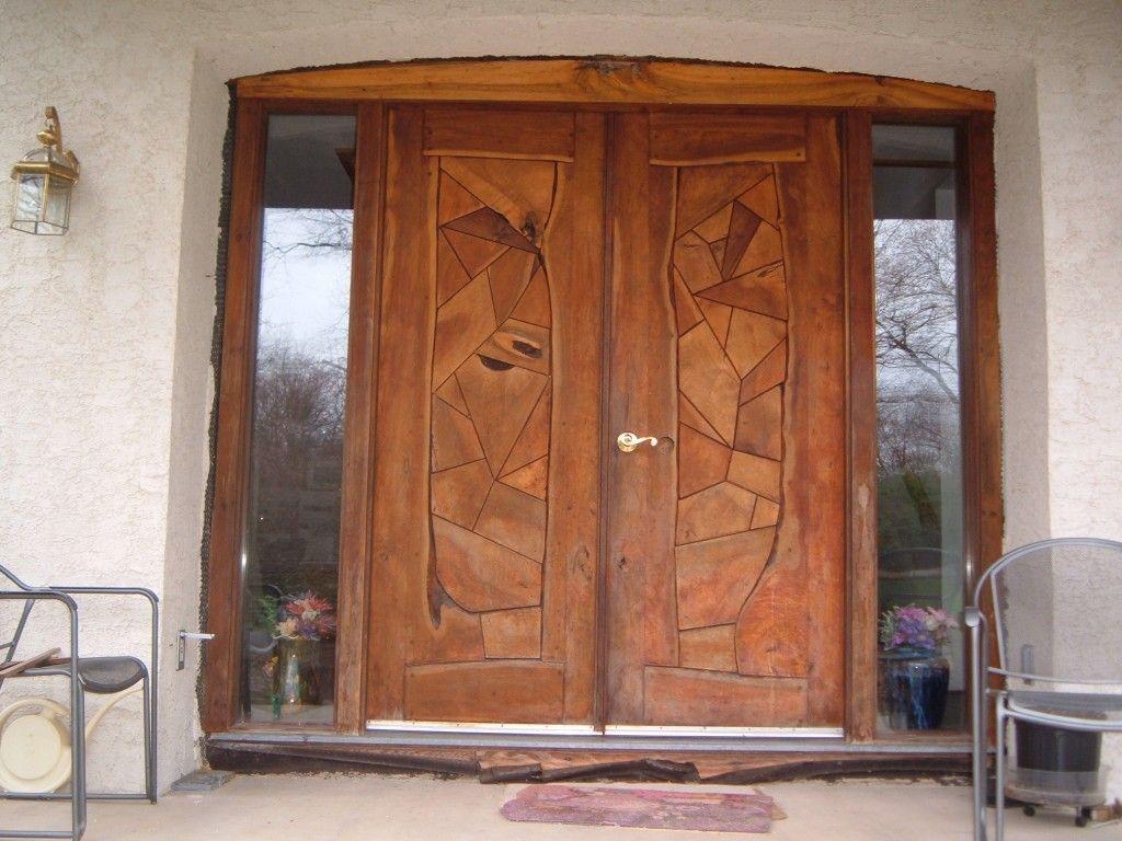 456Как сделать дверь входную в дом