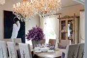 Фото 2 Хрустальные люстры (100+ фото моделей с ценами): аристократическая красота современного интерьера!