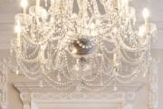 Фото 3 Хрустальные люстры (50 фото): удивительная красота из глубины веков