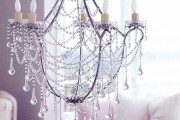 Фото 7 Хрустальные люстры (50 фото): удивительная красота из глубины веков