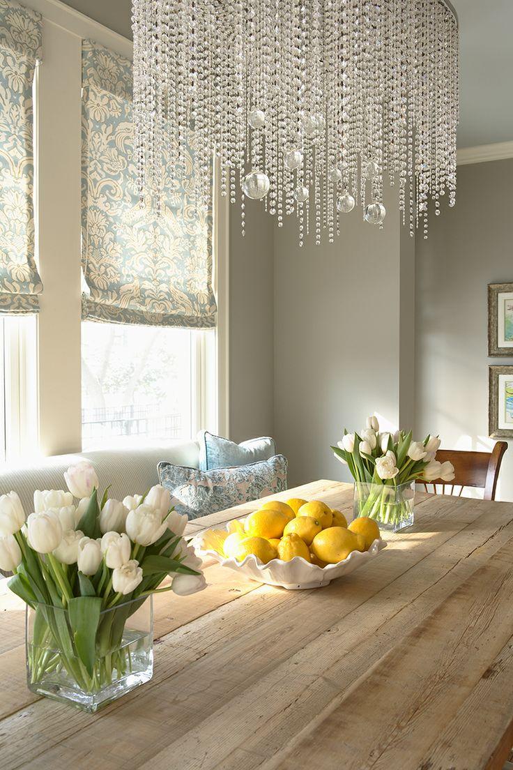 Нежные хрустальные цепочки создадут приятную атмосферу в вашей квартире