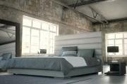 Фото 12 Кровати кожаные (69 фото): стильная роскошь в современном интерьере