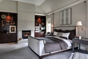 Фото 26 Кровати кожаные (69 фото): стильная роскошь в современном интерьере