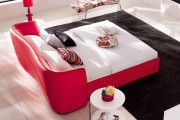 Фото 1 Кровати кожаные (69 фото): стильная роскошь в современном интерьере
