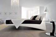 Фото 37 Кровати кожаные (69 фото): стильная роскошь в современном интерьере
