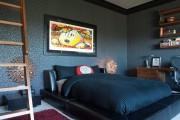 Фото 4 Кровати кожаные (69 фото): стильная роскошь в современном интерьере