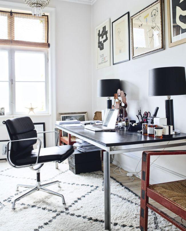 Современное кожаное компьютерное кресло