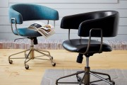 Фото 4 Кожаное кресло для компьютера (40 фото): статусность и комфорт