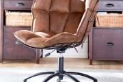 Фото 18 Кожаное кресло для компьютера (40 фото): статусность и комфорт