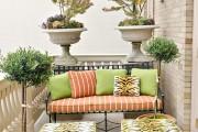 Фото 3 Мебель для балкона и лоджии (47 фото): корпусная, плетеная, мягкая