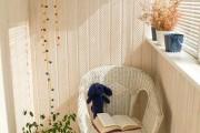 Фото 7 Мебель для балкона и лоджии (47 фото): корпусная, плетеная, мягкая