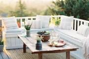 Фото 4 Мебель для балкона и лоджии (47 фото): корпусная, плетеная, мягкая