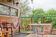 Фото 20 Мебель для балкона и лоджии (47 фото): корпусная, плетеная, мягкая