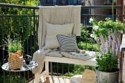 Фото 19 Мебель для балкона и лоджии (47 фото): корпусная, плетеная, мягкая