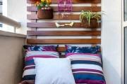 Фото 5 Мебель для балкона и лоджии (47 фото): корпусная, плетеная, мягкая