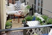 Фото 18 Мебель для балкона и лоджии (47 фото): корпусная, плетеная, мягкая