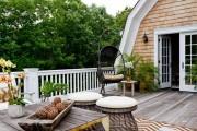 Фото 13 Мебель для балкона и лоджии (47 фото): корпусная, плетеная, мягкая