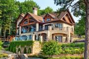 Фото 7 Отделка фасада дома (50 фото): как сделать дом привлекательнее и теплее