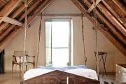 Фото 9 Подвесная кровать (45 фото): сладкий сон на парящем облаке