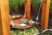 Фото 11 Подвесная кровать (45 фото): сладкий сон на парящем облаке