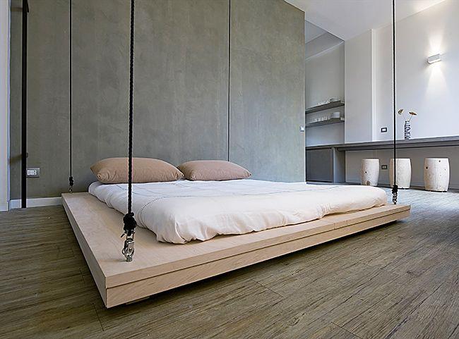 Подвесная кровать – это сон в невесомости