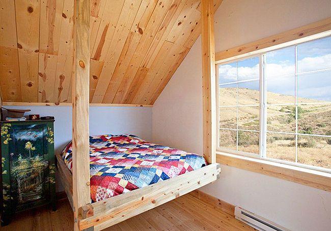 Спальное место из натурального дерева - экологически чистые и безопасные изделия
