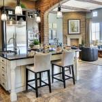Правильный пол на кухне (45 фото): на чем остановить свой выбор? фото