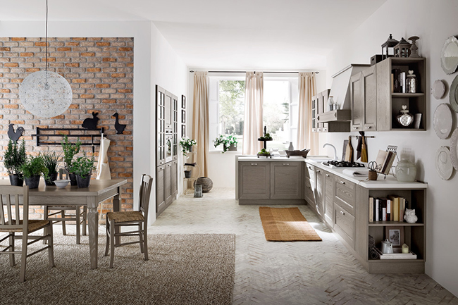 Для кухни лучше использовать специальный ковролин, который может переносить частые чистки