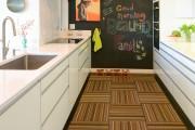 Фото 3 Правильный пол на кухне (45 фото): на чем остановить свой выбор?