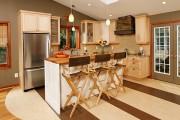 Фото 1 Правильный пол на кухне (45 фото): на чем остановить свой выбор?