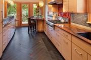 Фото 9 Пол на кухне: сравнение популярных вариантов покрытий и 60+ лучших идей для интерьера