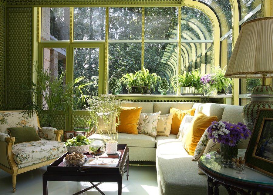 Зимний сад - как часть жилого помещения