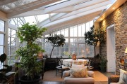 Фото 17 Проект дома с зимним садом (51 фото): когда уютно и людям, и растениям