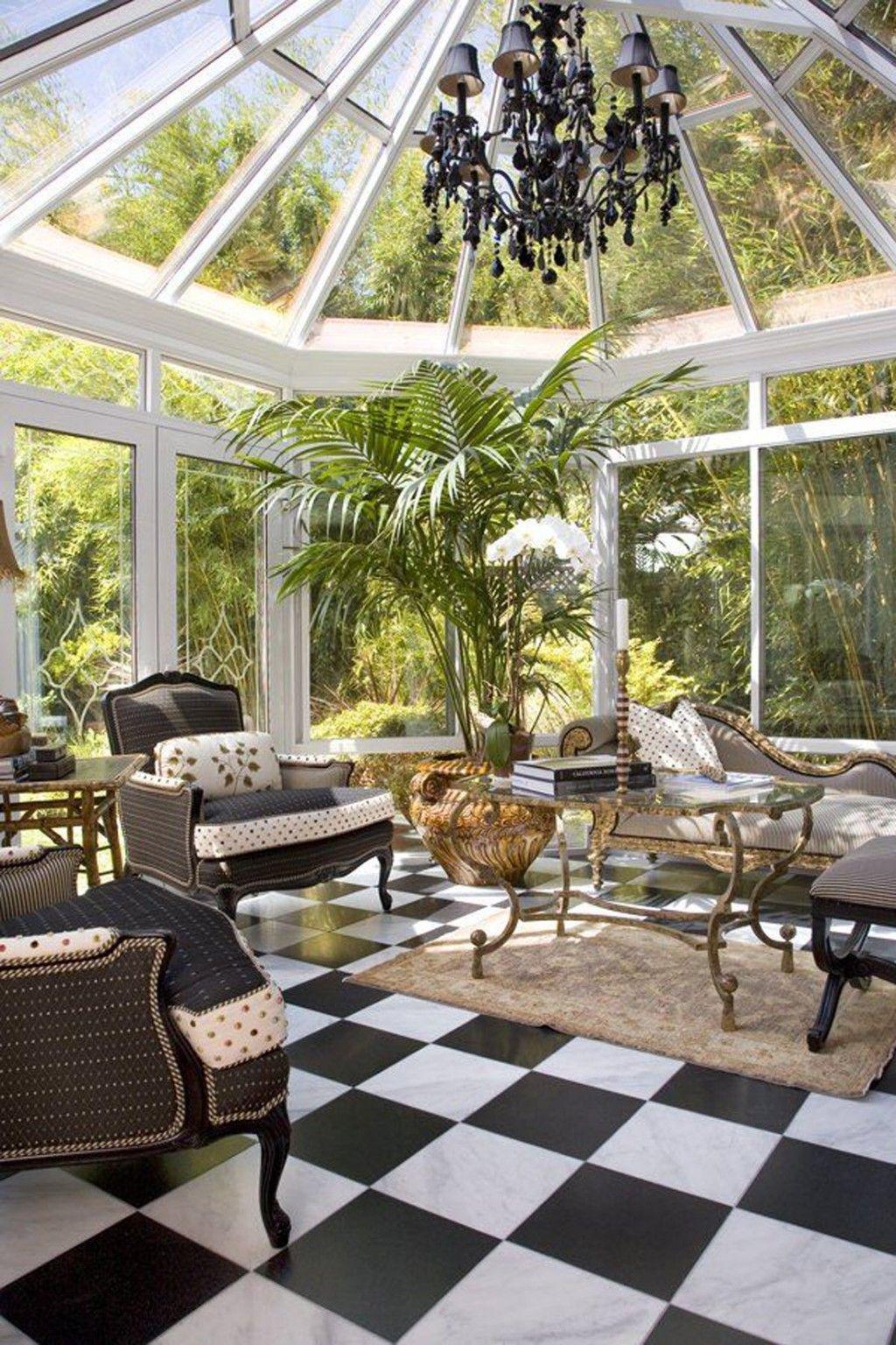 Крыша зимнего сада с правильным углом наклона