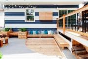 Фото 2 Скамейки из дерева (45 фото): разнообразие форм и стилей