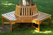 Фото 18 Скамейки из дерева (45 фото): разнообразие форм и стилей