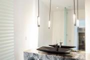 Фото 9 Столешницы для ванной комнаты (80+ моделей для современного интерьера): как выбрать, виды и материалы