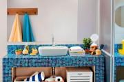 Фото 3 Столешницы для ванной комнаты (80+ моделей для современного интерьера): как выбрать, виды и материалы