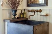 Фото 18 Столешницы для ванной комнаты (80+ моделей для современного интерьера): как выбрать, виды и материалы