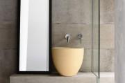 Фото 19 Столешницы для ванной комнаты (80+ моделей для современного интерьера): как выбрать, виды и материалы