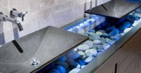 Столешницы для ванной комнаты (51 фото): виды, особенности, материалы фото