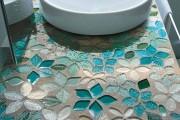 Фото 8 Столешницы для ванной комнаты (80+ моделей для современного интерьера): как выбрать, виды и материалы